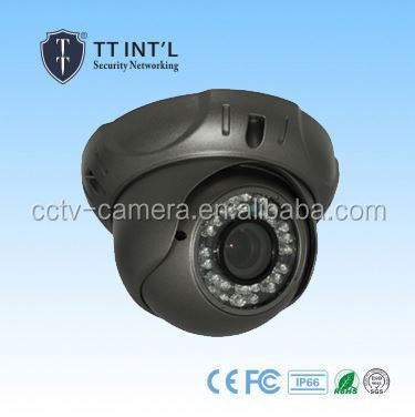 720P 2.8-12mm Lens Dome IR 1.0Megapixel AHD Camera high frame rate cctv camera