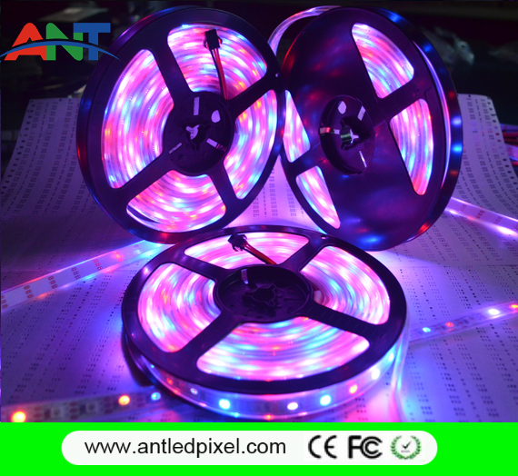 Led Strip Manufacturer 30ledsm DC5V Digital Addressable RGB WS2812B Led Tape