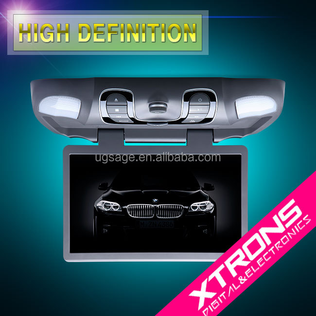 "Xtrons CR1505Grey 15.6"" roof mounted car monitor"