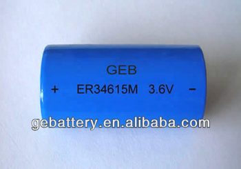 GEB ER34615M 3.6v 14Ah battery