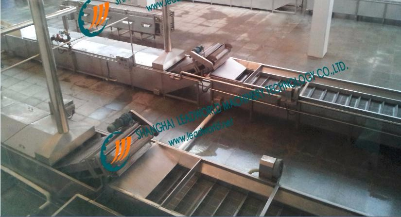 2017 new model Automatic Canned dog food production line