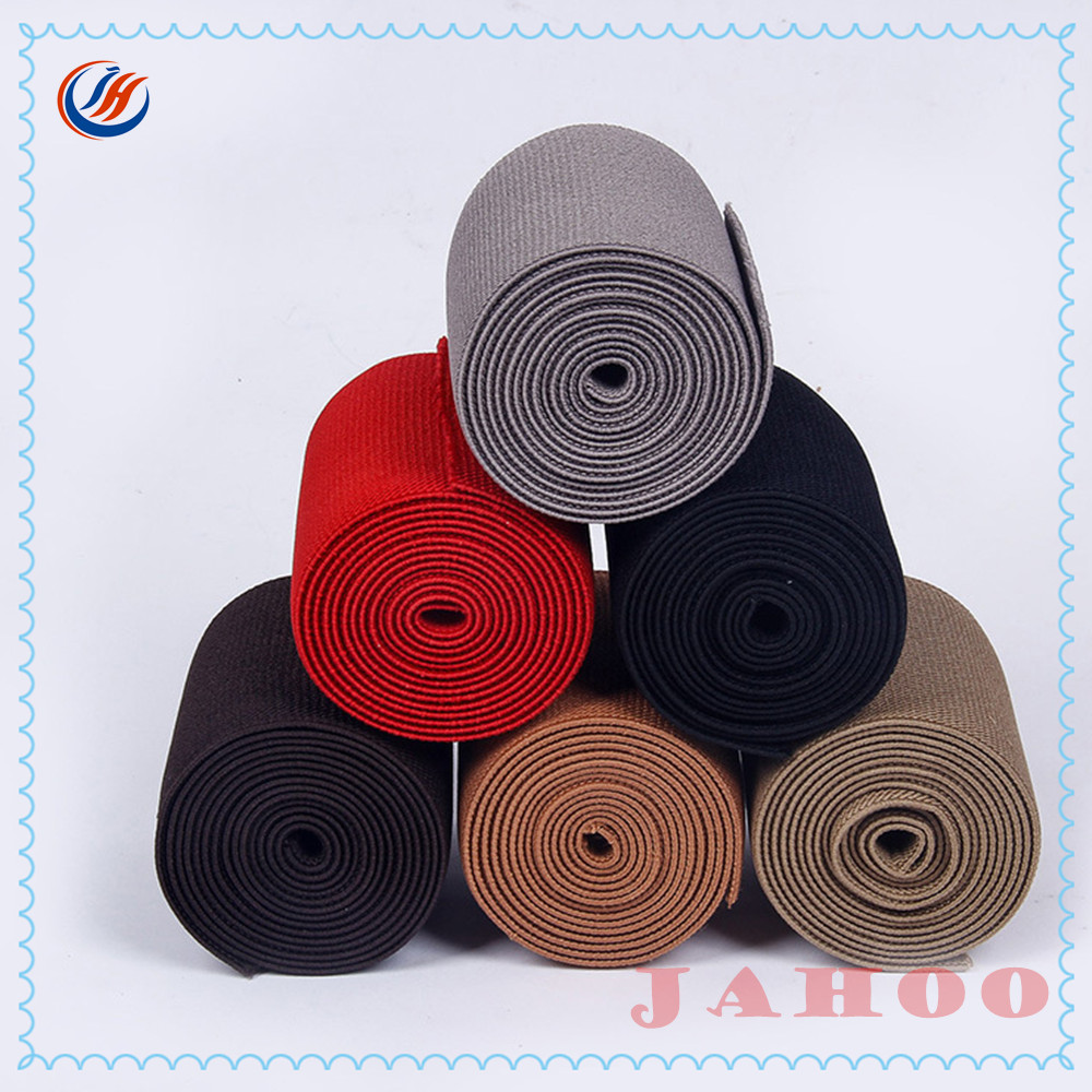 Competitive Price Factory Wholesale Different width In Stock Cotton Elastic Ribbon