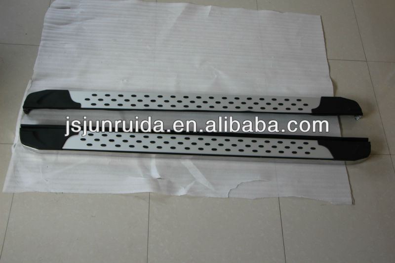 side step mitsubishi outlander side step running boards cross bar,bull bar(Mitsubishi outlaner 2013)