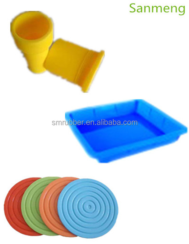 Custom Compression Molded Silicone Part /Rubber products