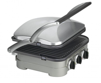 4 Slice of Professional Smokeless Electric Grill/Sandwich Maker/Panini Grill