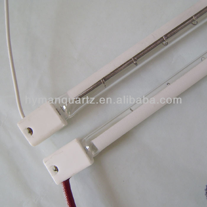 More match IR spectrums Quartz Heating Lamp,Higher Thermal Density Quartz Heater Infrared Light Emitters Halogen Lamp