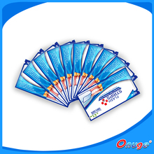 Bright White teeth whitening strips, professional dental care tooth bleaching strips