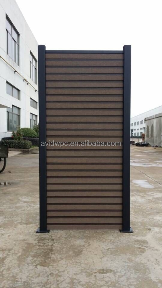 waterproof wpc door panels/garden doors/outdoor garden gates