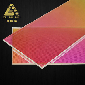 High temperature resistance big uv clear quartz glass window plate