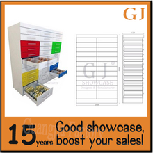 Fashionable pharmacy cabinets medical store drawer system hospital storage equipment