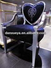 luxury high quality fabric furniture hotel dining chair