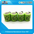 1/3AA 300mAh 1.2v Ni-MH rechargeable battery cell with tabs