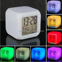 DIHAO luminous hands alarm clock ,H0T123 alarm clocks multiple settings , radio alarm clock