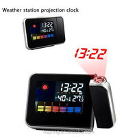 2014 High Quality Excellent Weather Station LCD Clock