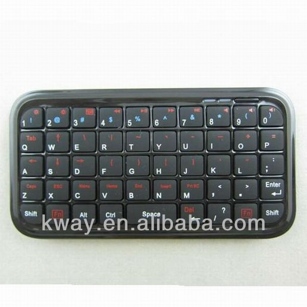 Ultra Slim Mini Bluetooth Keyboard For Iphone 4 4S Android OS PC PS3 PDA KOA058
