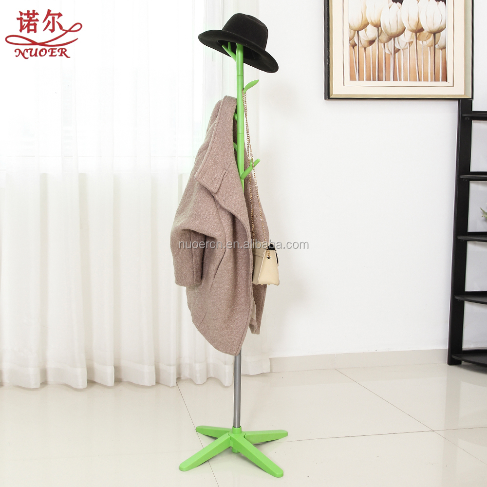 Living room furniture Modern Design Decorative Metal clothes Rack Coat hanger Tree