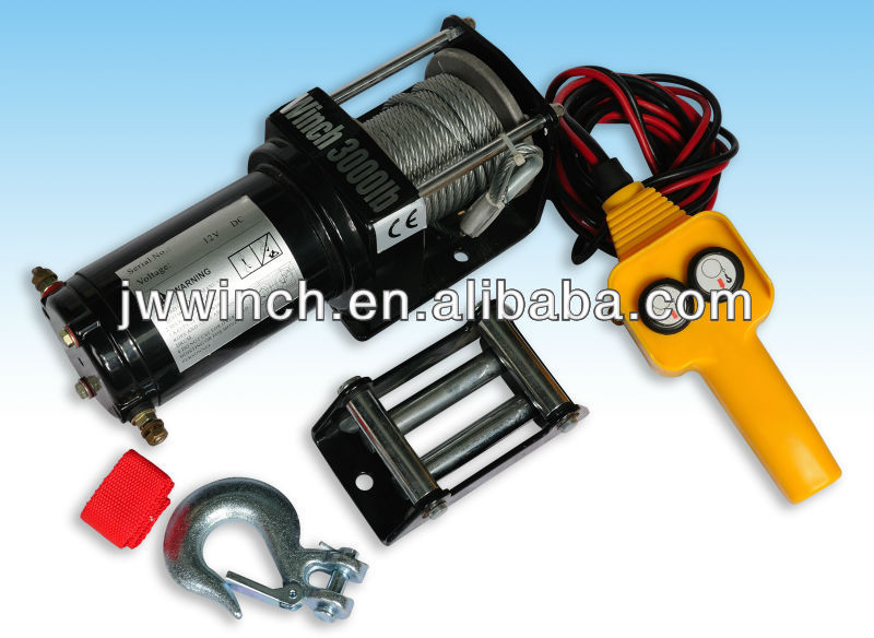 atv/UTV electric winch 3000lb with overload
