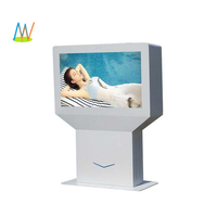 "32"" 46'' 55"" outdoor tft touch lcd screen display, 44 inch 2500nits sunlight readable android totem TV"
