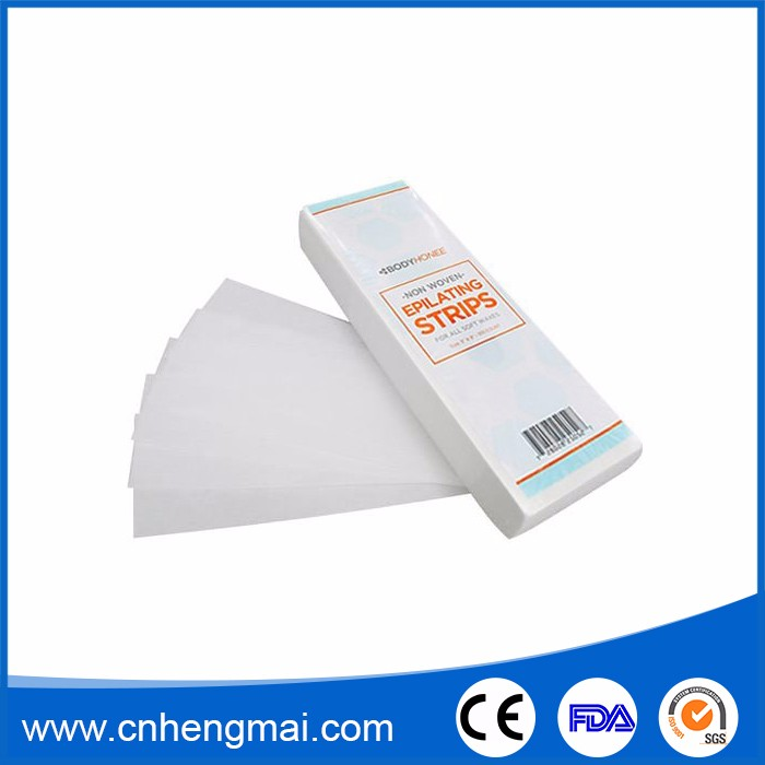 Body Facial Hair Removal Products Nonwoven Wax Strip for Beauty Salon