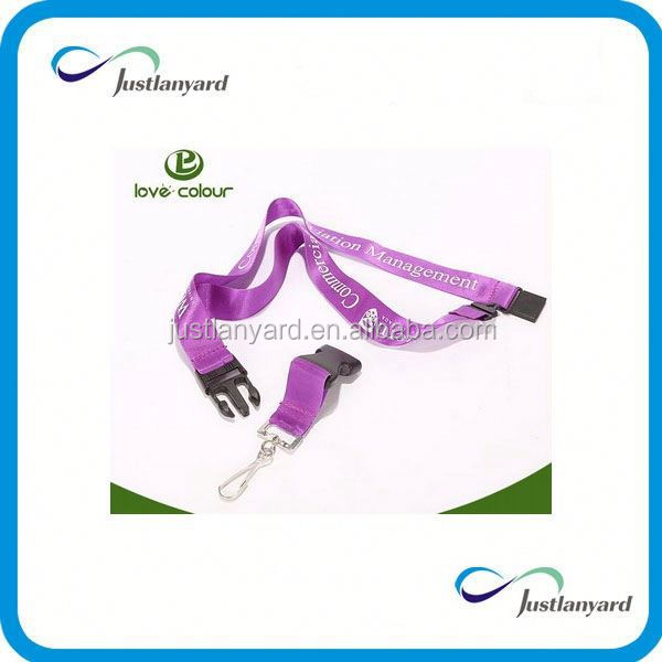 Customized eco recycle lcd solar keychain lanyard