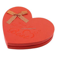Professional design exquisite cardboard candy chocolate boxes