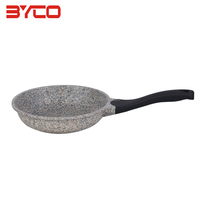Factory Customized New Product Multifunction Marble Nonstick Stone Coating Aluminum Cookware Fry Pan