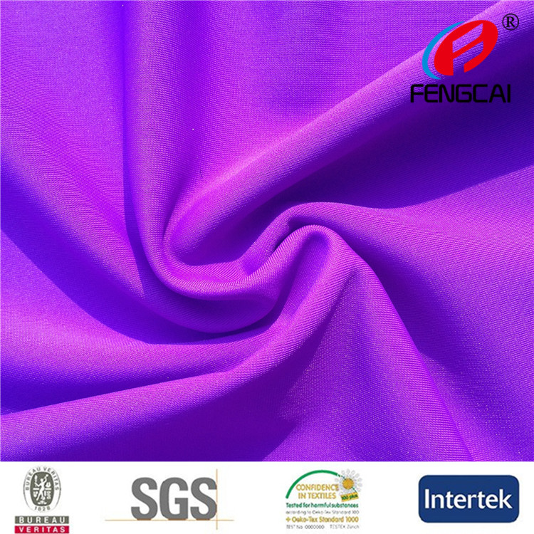90 poly 10 spandex lycra warp knitted polyester rayon spandex fabric