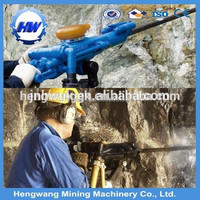 Compressed Air Rock Drilling Machine