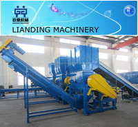 Hot sale plastic crusher for bottle recycling line