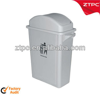 Recycling Container Bin 65L with push cover