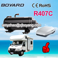 Boyard Caravan vehicle roof mounted air-conditioner compressor for rv for bus air conditioner mobile hourse caravan