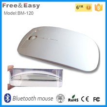 Super Slim Flat Computer Accessories New Optical Wireless Bluetooth Mouse