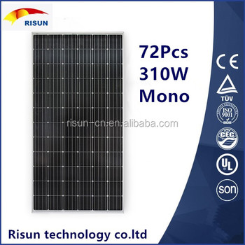 310W Solar panel 25years warranty high effiency good priceSolar panel 25years