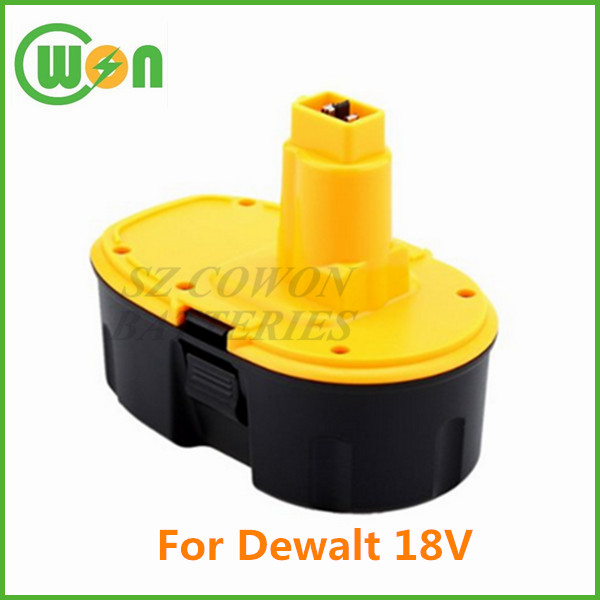 High quality 18V replacement battery for dewalt DC9096 DE9039 DE9095 DE9096 DE9098 DW9095 DW9096 DW9098 DE9503 DC020 DC212 DC212