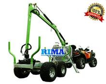 atv wood trailer with crane TTC34/TTC34-4WD