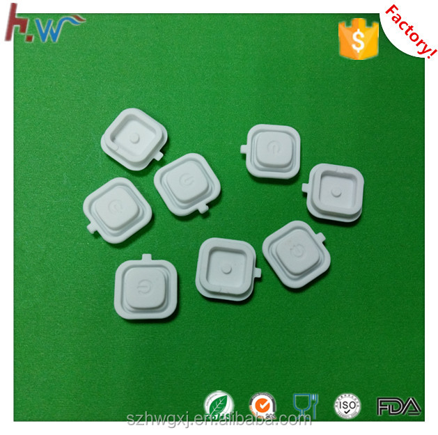 Silicone switch button push button cover