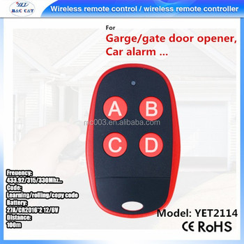 Best price wireless 433 mhz remote control copy remote control duplicator