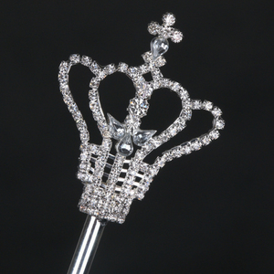 hot sale crown tiara rhinestone scepter