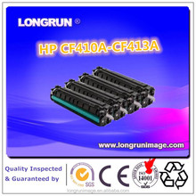 Color Toner Cartridge CF410A-CF413A with CE, ISO9001,14001