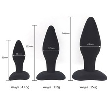 Amazon Hot Sellers Gay ass anal plug set silicone sex anus toys