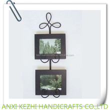 2 photo collage metal photo frame