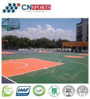 Outdoor Sports Court Polyurethane Coating for Safty Sports Surfacing Material