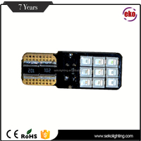 Ce Rohs Certificate No-Polarity License Plate Lights 300Lms 12V Canbus Bulb T10 W5W Car Led Light