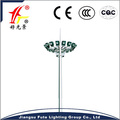 Customized high quality & cheapest price 15~35 meter high mast lighting with LED lamp & auto lifting system