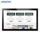 China suppliers lowest price 21.5 inch android tablet /smart panel Pc with 10 point lcd touch screen