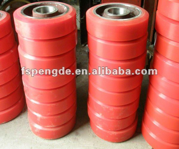 pu polyurethane rubber plastic hub motor electric wheel