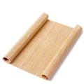 Flat side sushi placemat bamboo sushi roller for sale