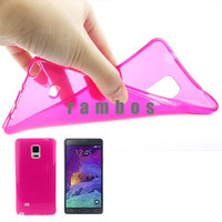 Transparent Clear Soft 0.45mm Case Protective Silicone Slim Skin Back Cover for Samsung Galaxy S4 Mini J1 J5 J7 Note 3