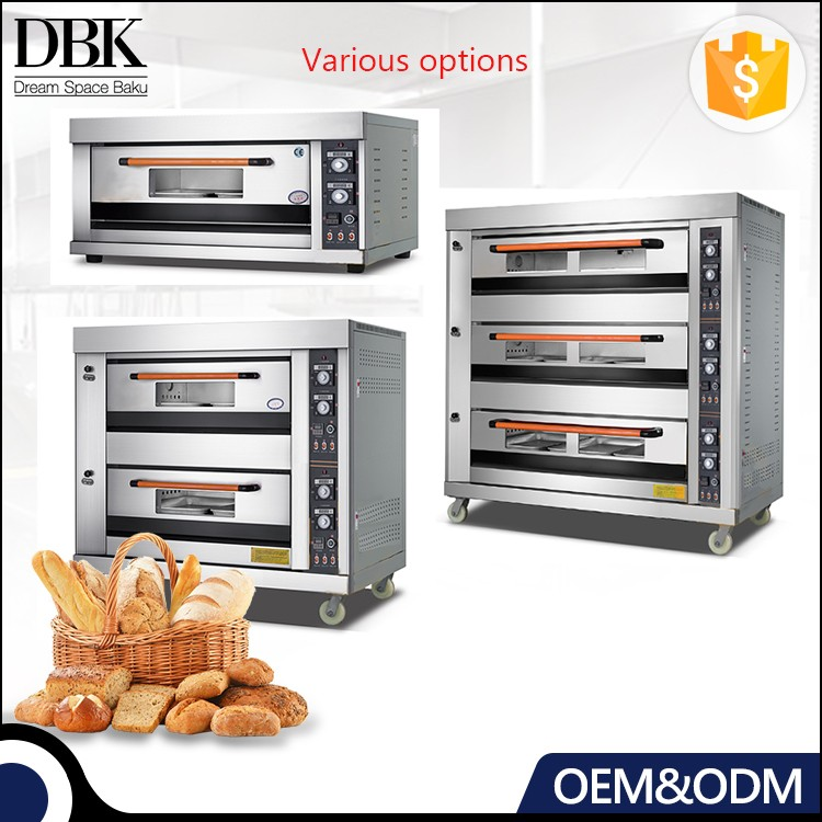 Professional Bakery Equipment Industrial Pie Bakery French Bread Baking Biscuit Oven