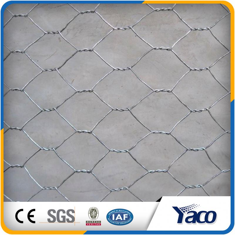 green shade hexagonal wire chain link fence netting for plant